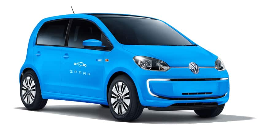 Electric car Volkswagen e-up