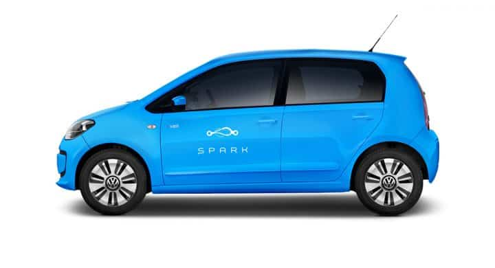 SPARK electric car Volkswagen